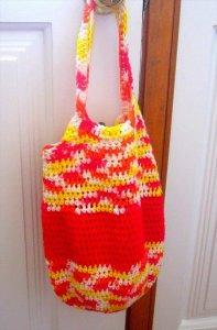 Colorful Crochet Tote Bag Pattern