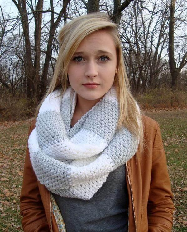 diy crochet scarf pattern