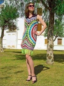 DIY Exclusive Crochet Dress Fashion