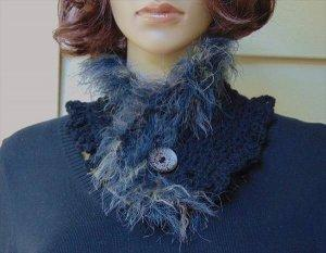 Stylish Crochet Neckwarmer