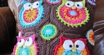 diy crochet owl tote pattern