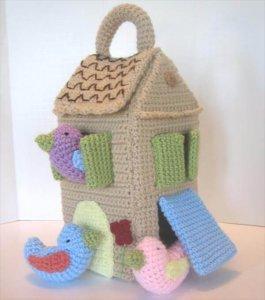 DIY Crochet Bird House Pattern