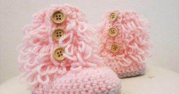 kids crochet shoes free pattern