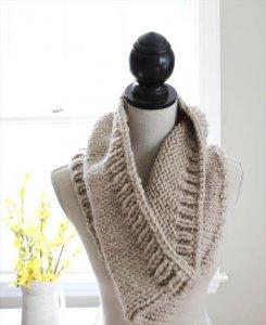 Multi-styled Crochet Cowl