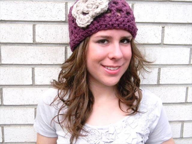 Crochet Hat Pattern for Women