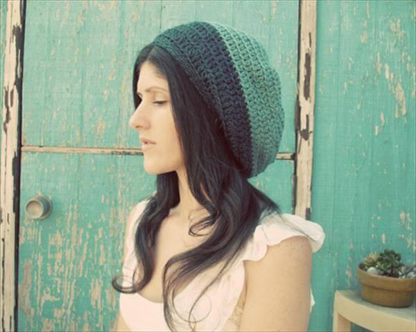 chic crochet hat pattern