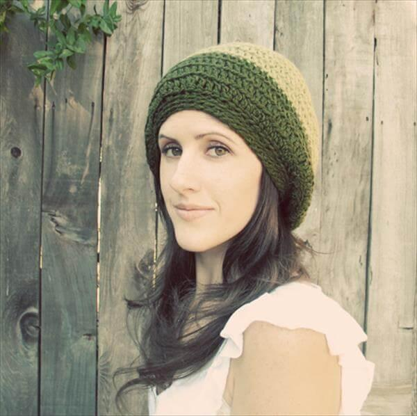 hand crocheted hat pattern