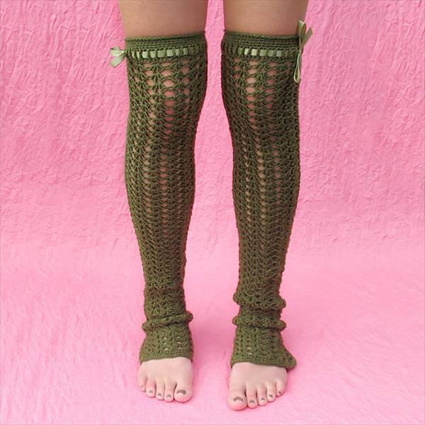 easy crochet leg warmer pattern
