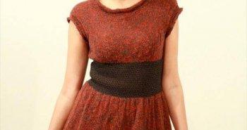 free crochet winter dress pattern