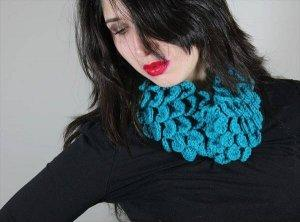 Convertible Crochet Headband and Cowl