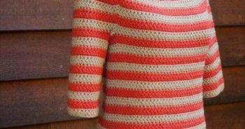 easy women sweater crochet pattern