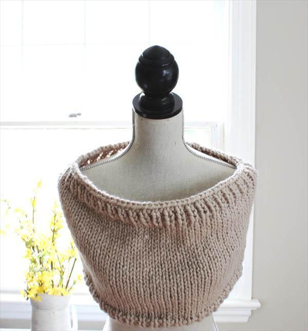diy crochet cowl pattern