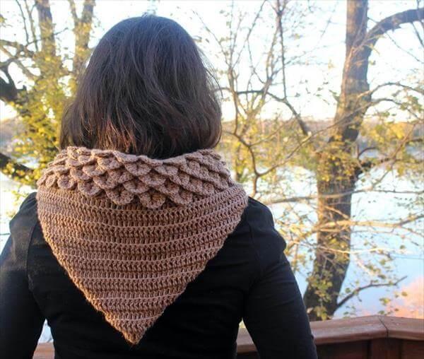 crochet hood pattern for women