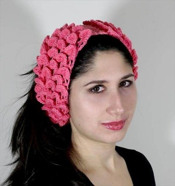free crochet women headband