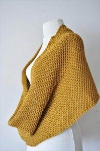 Crochet Infinity Scarf in Turkish Style