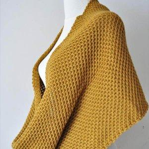 diy crochet infinity scarf pattern
