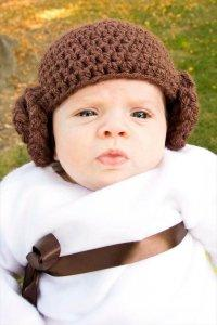 Crochet Beanie with Cinnamon Roll Earflap