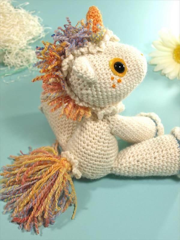 crochet baby hermione the unicorn pattern