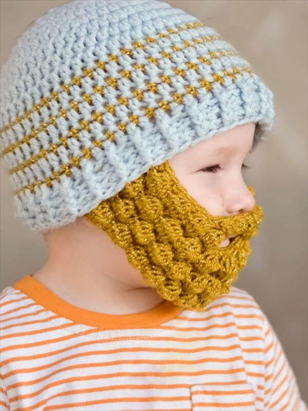 2e73b98cb55 Free Crochet Bobble Beard Pattern – 101 Crochet Patterns