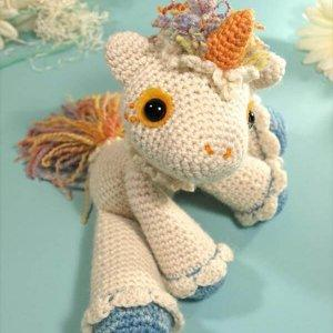 diy free crochet hermione the unicron pattern