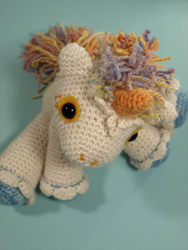 baby crochet hermione the unicorn