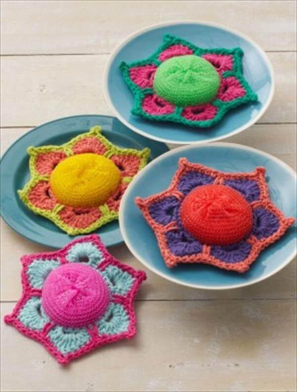 easy crochet scubby pattern