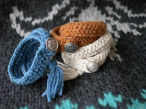 crochet bracelet patterns