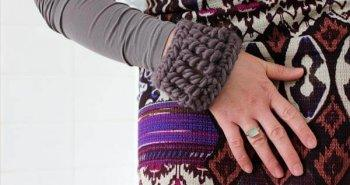 easy crochet cuff pattern