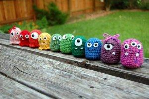 Easy Crochet Monster Pattern Free