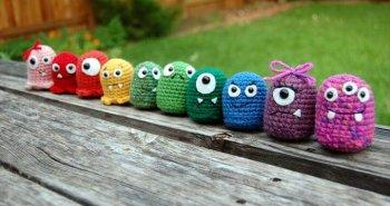 free crochet monsters