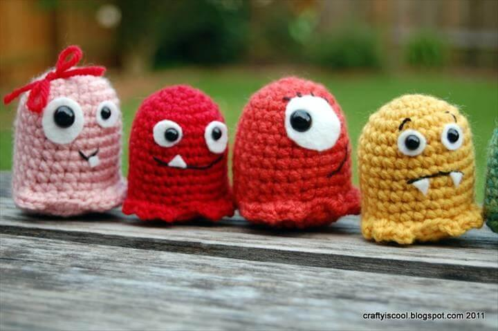 easy crochet monster pattern