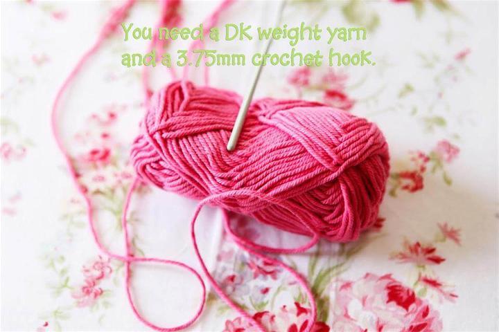 easy crochet rose pattern