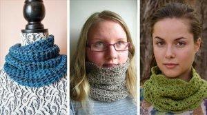 10 Free Crochet Cowl Patterns – Fast & Easy