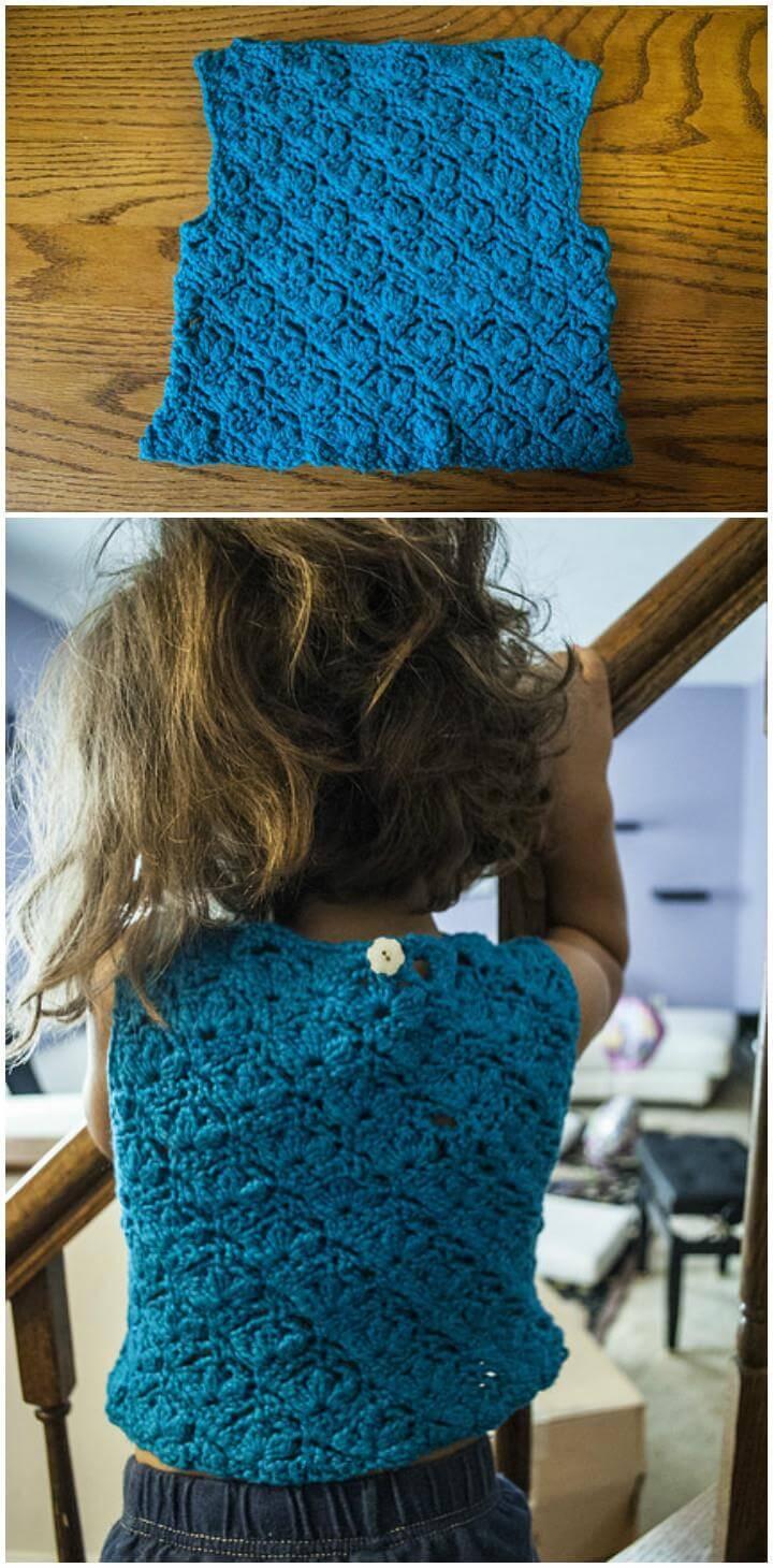 adorable crochet keiki top free pattern