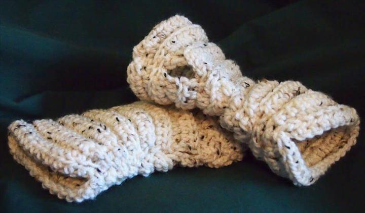 crochet ragamuffin mitts