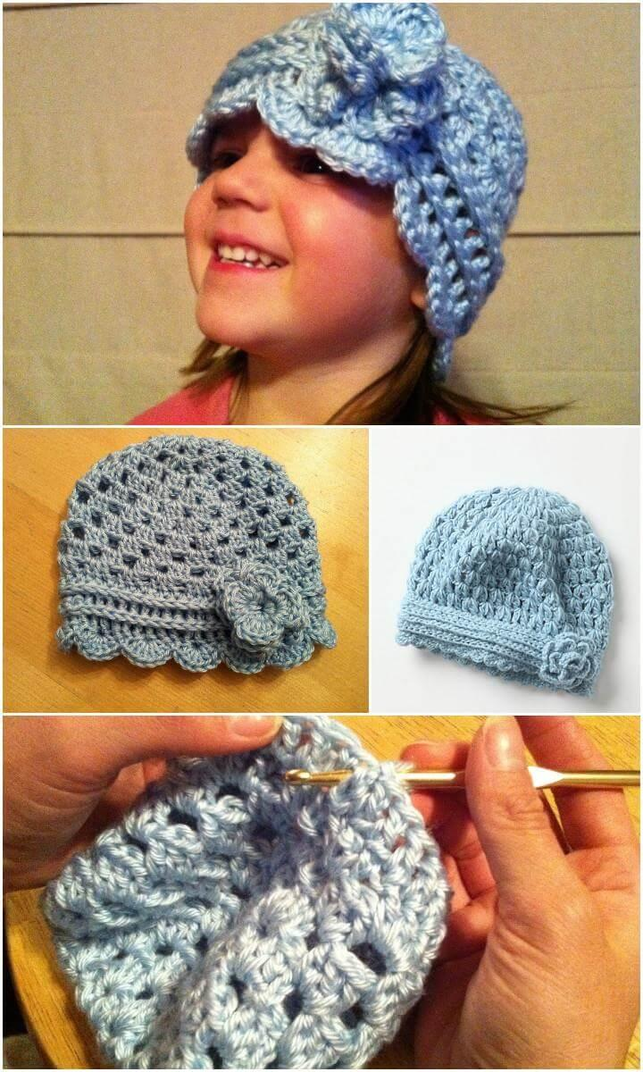 stylish crochet anthro hat pattern
