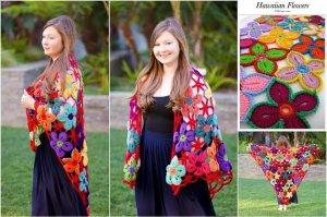 10 FREE Crochet Shawl Patterns for Women's