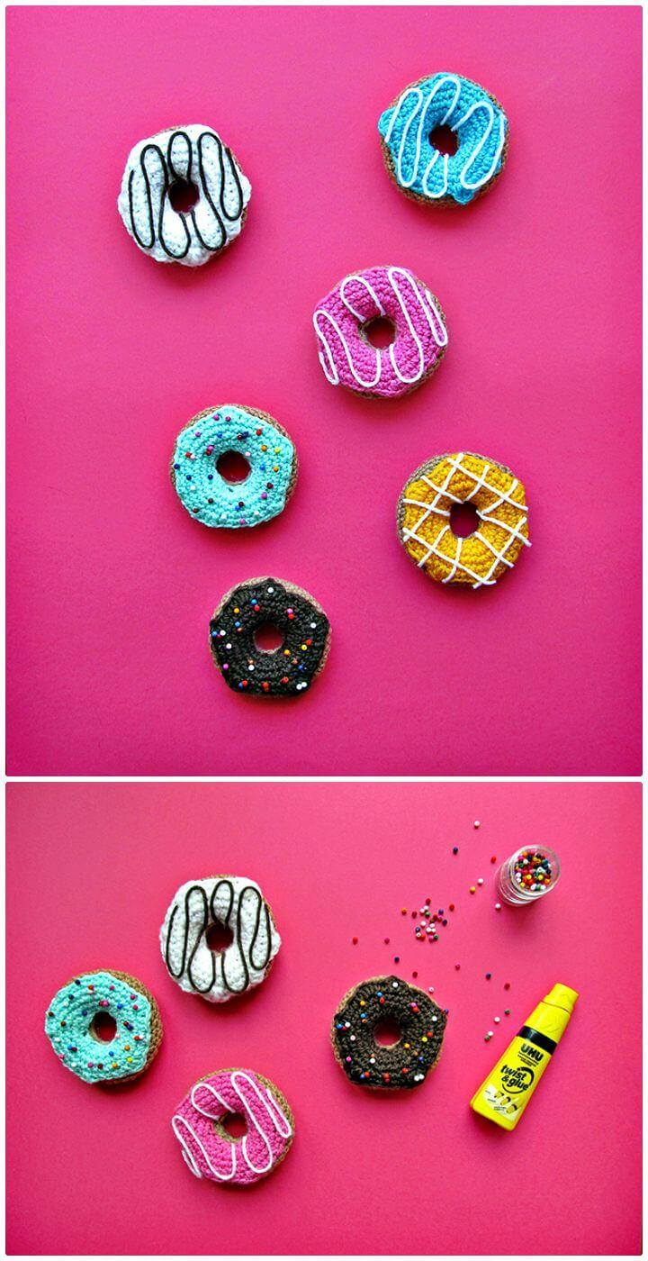 Easy How to Free Crochet Donuts Pattern